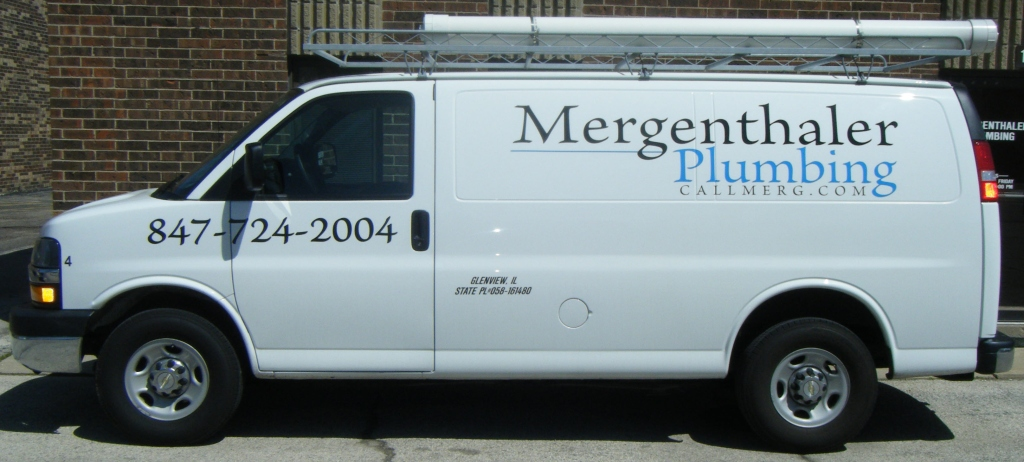 Mergenthaler Plumbing repair service in Northbrook, IL.